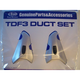 TDF DUCT-3 SET Silver-Frost