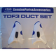 TDF DUCT-3 SET Diamond-White