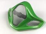 VX-PRO4, CHINBAR VENT CAP W/ GRILL, METALLIC GREEN (Tickle Green)