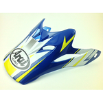 VX-PRO4, PEAK/VISOR, TIP BLUE-YELLOW